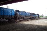 A Very Blue Train