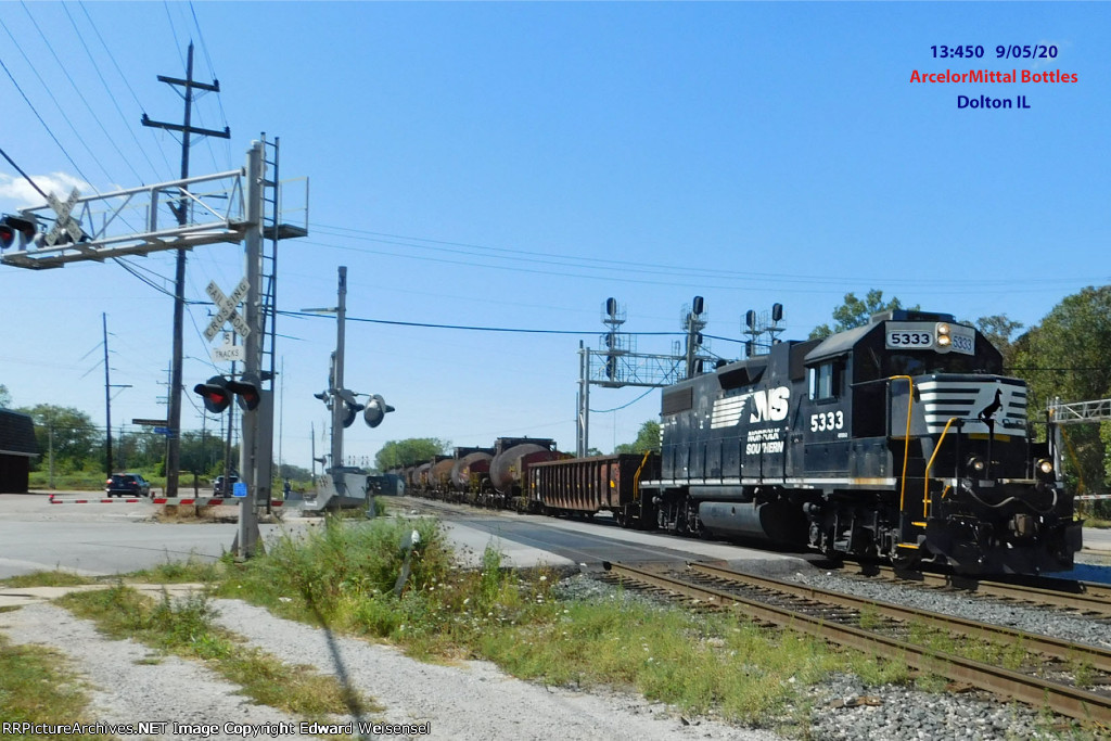 Stallion 5333 leads 8 hot bottles east to the land of Hoosiers