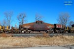 10 axle Incoal hot metal bottle built by Reichard