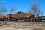 12 axle Incoal hot metal bottle built by Reichard