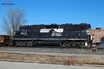 INLX Incoal hot metal train has this GP38-3 stallion