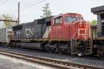 CN SD75I #5794 on K614