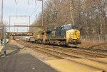 CSX ES44AC-H #831 on Q409