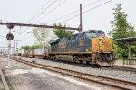 CSX ES44AC-H #3220 on Q032