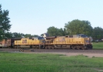UP 5464 Heads a Freight Train East