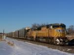 SD70M's From Different Paint Scheme Eras Lead Autoracks on the Marysville Sub
