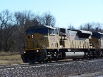 UP 8084 Leads Coal Empties West Toward North Platte