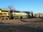 BNSF 9704 Helps out with Empty Coal Gondolas