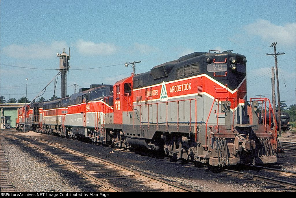 BAR GP9 79 lined up with BL-2 54 and F-3A 49