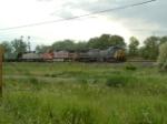 CSX 7782 C40-8W eastbound