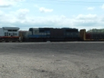 EMD 9002 SD60, looks like it caught fire and was repaired,