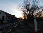 Sunset on the East Penn Railroad Octoraro Branch