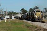 KCS Train 100 - Southbound Run last shot