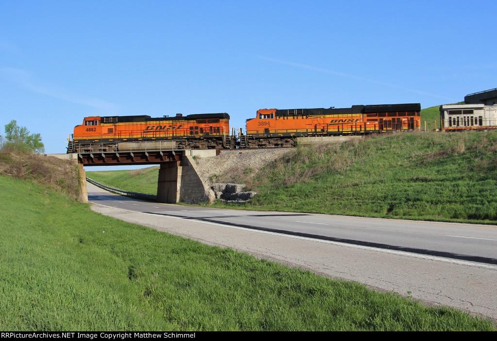 West Bound Over US-36
