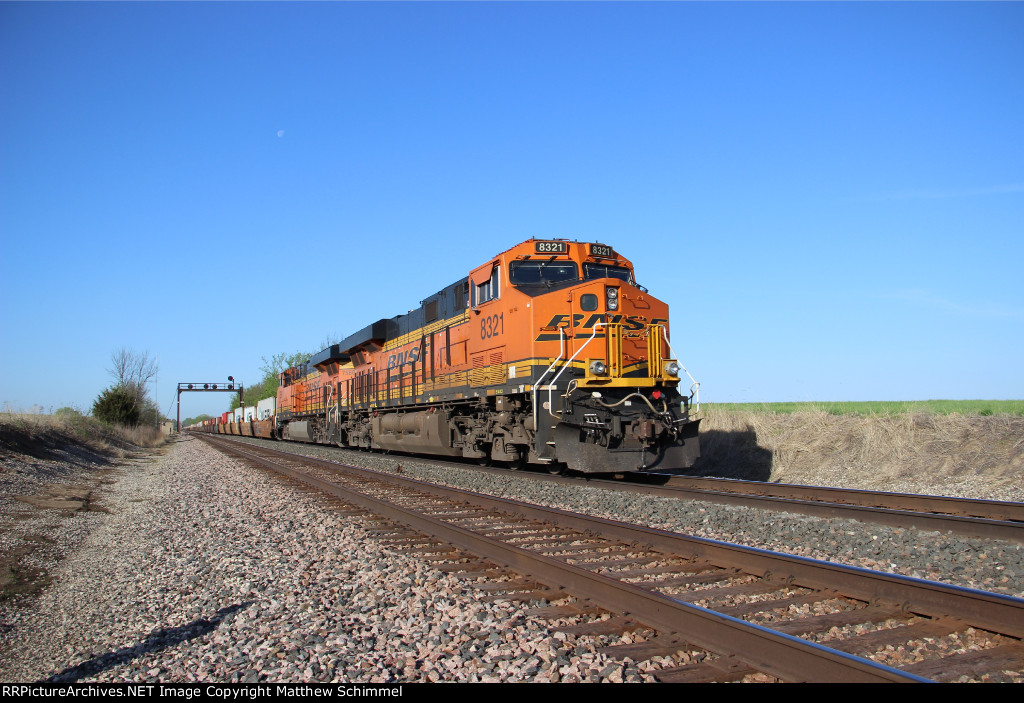 BNSF 8321 - DPU