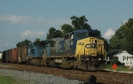 CSXT 7677 leads NS-337