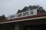 Old Amtrak sign for Lake City.