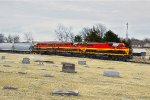 KCS Passing Gentry Cemetery