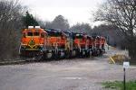 BNSF 1705, BNSF 1815, CSX 252, BNSF 1926, BNSF 1994, BNSF 5494, BNSF 6011