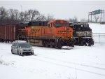BNSF 7591 & NS 7527