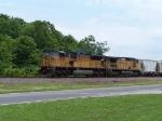 Northbound Rock Train