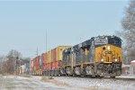 CSXT 3287 On CSX Q 143 Eastbound