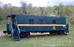 GMRC Caboose at Chester, VT