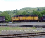 HATX 402 at Bellows Falls, VT