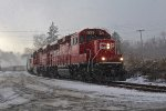 Snow in the Adirondacks