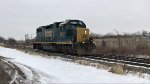 CSX 2617 is heading to CP120.