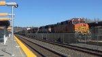 BNSF 4897 leads an Auto Train