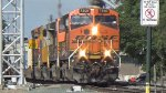 BNSF 7300 Leads an Intermodel Train