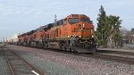 BNSF 4253 leads an Intermodel Train