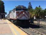 JPBX 901 Leads Caltrain 156