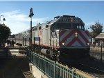 JPBX 918 Leads Caltrain 262