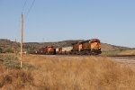 BNSF 4980 & 5067 race west with S-LPCLHG1