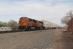 BNSF 4256 & 8040 provide the power for Q-ALTSBD6
