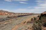 The Escalante Western coal shuttle rolls on to the spur to the power plant