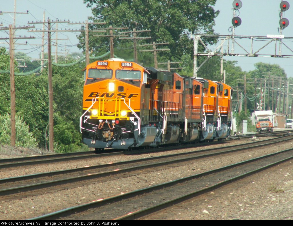 BNSF 5994 with 4 other units