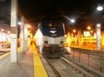 Amtrak's City of New Orelans waiting to leave