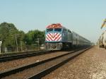 Naperville Express Rocketing Thru