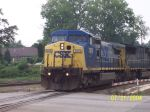 CSX 7876 Crosses the Street