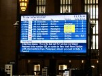 Train info board