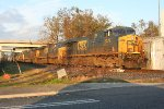 CSX M706 9000 ft coming out of the running track
