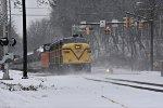 CVSR 6777 begins to clear Merriman Rd. & Portage Path.