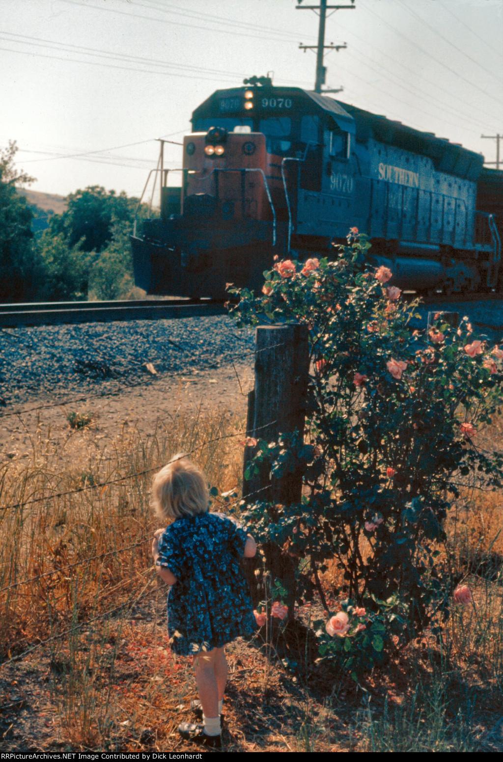 SP 9070 south of San Jose
