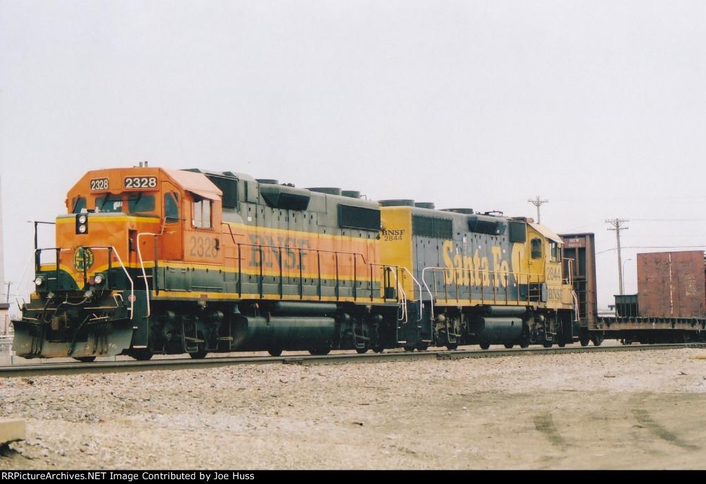 BNSF 2328 East