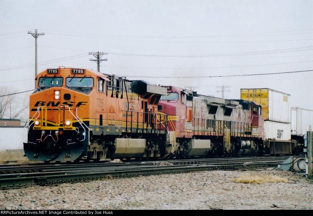BNSF 7785 East