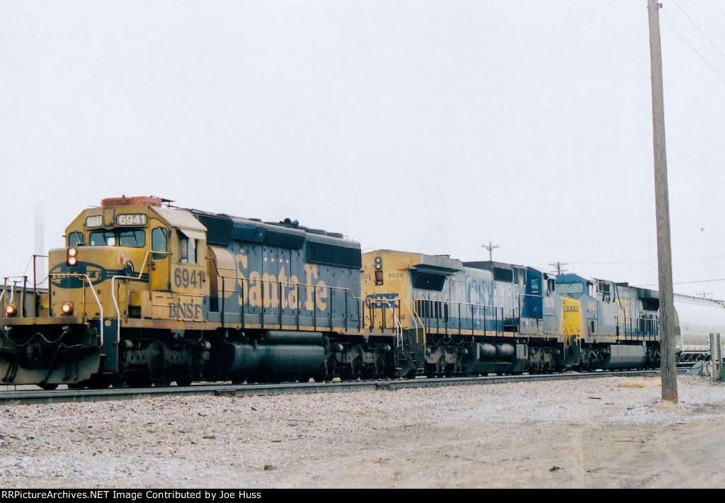 BNSF 6941 East