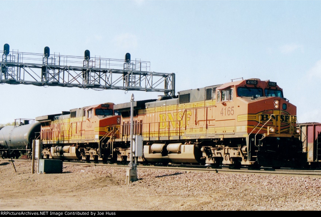 BNSF 4165 West
